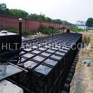 BDF water tank