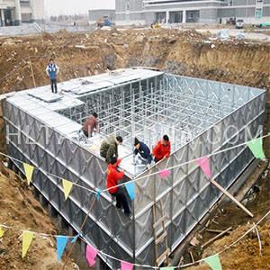 HDG water tank